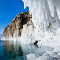 *ISRAEL ~ Salt formations on the coast of the Dead Sea. Israel is home to the largest salt cave in the world. Places To Travel, Places To See, Travel Destinations, Around The World In 80 Days, Around The Worlds, Dead Sea Israel, Israel History, Salt Cave, Visit Israel