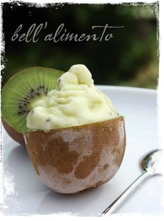 Gelato al Kiwi {Kiwi Gelato}