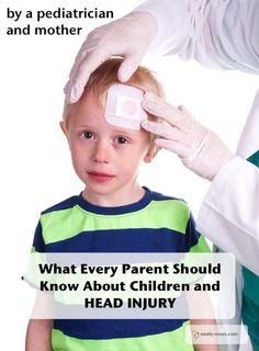 Head Injury in Children by a pediatrician