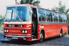 Duple Dominant bodied Bedford YRT - Barton Transport fleet no.1331 'at rest' in Long Eaton