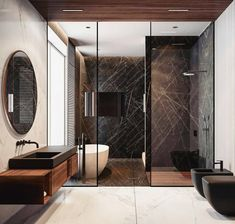 """782 Likes, 8 Comments - ABYTECTS (@abytects) on Instagram: """"@Regrann from @allofrenders - #allofrenders Bathroom Goals ♥💯 Tag friends 👥 Render by @quadro_room…"""""""