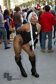 Black Cammy cosplay