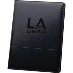 The Associate Portfolio  Includes refillable, 30 ruled page notepad. Inside front panel contains flap pocket with 3 horizontal pockets. Pen loop. Pen not included.
