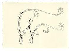 Day 49 • W • Handwritten Letters