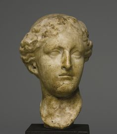 Hellenistic Marble Head of Aphrodite, Circa Late 4th/3rd Century B.C.