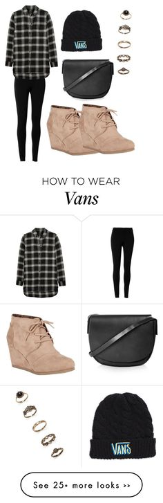 """""""Untitled #243"""" by nashwa320 on Polyvore featuring Max Studio, Madewell, Vans, Topshop, Forever 21 and City Classified"""