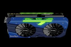 Palit GameRock GTX 1080 Ti cards are cooled by four counter-spinning fans