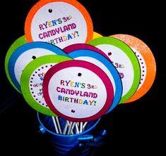 Ryen's 3rd Candyland Birthday   CatchMyParty.com