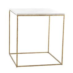 Wisteria Furniture | Side Tables | Gold leaf side table | marble and gold leaf table |