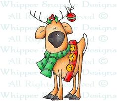 Donner - Christmas Images - Christmas - Rubber Stamps - Shop