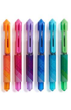 International Arrivals 'Mighty Mini' Gel Pens (Set of 6)