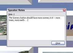 Create notes as you deliver in PowerPoint 2003
