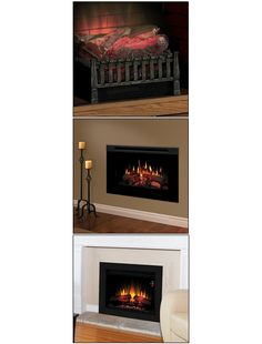 Electric Fireplace - Home and Garden Design Idea's
