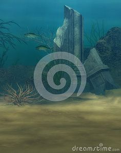 Underwater Ocean Scene With Fish - Download From Over 24 Million High Quality Stock Photos, Images, Vectors. Sign up for FREE today. Image: 42890951