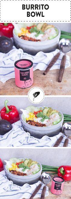 Du hast Lust auf Mexikanisch? Dann kommt unsere Burrito Bowl wie gerufen für dich! Typisch mexikanisch angehauchte Zutaten lassen dich die Siesta in Windeseile vergessen.