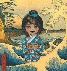 JOYJO Japanese Prints, Disney Characters, Fictional Characters, Disney Princess, Inspiration, Design, Art, Biblical Inspiration, Art Background