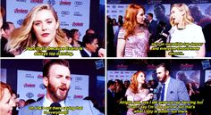 Why have we never seen you tap dance? Christopher, explain. | 17 Times Chris Evans Needed To Explain Himself