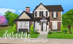 Durango Family House  Part 2 of Newcrest Neighborhood Build Series  Large family home, perfect for your Newcrest Neighborhood! Available in the Sims 4 Gallery.  • 4 bedrooms, 3 bathrooms  • $70,742  •...