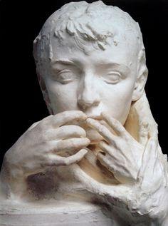 Auguste Rodin (1840 - 1917) The Farewell, 1892 - Chalk