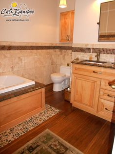 Vintage Java Fossilized® Bamboo Flooring For The Bathroom | Bathroom Design  | Pinterest | Bamboo Floor, Java And Wide Plank