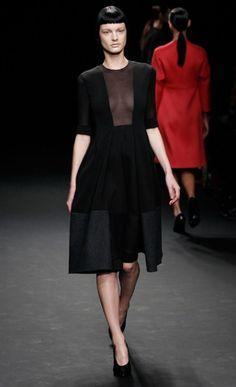 Calven Klein at Mercedes-Benz Fashion Week 2012.