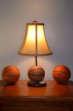 Resin Basketball Lamp