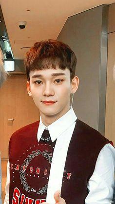 Chen gostoso do krl -_- Baekhyun, Kai, Kris Wu, Kim Jong Dae, Exo Lockscreen, Exo Korean, Fandom, Xiuchen, Kim Minseok