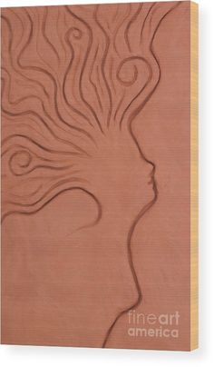 Windy thoughts, relief in clay by Alexandra Kiczuk. Train Of Thought, Got Print, Your Image, Fine Art America, Clay, Texture, Thoughts, Wood, Artwork