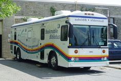 Bookmobile - I always checked out books when the bookmobile came to my neighborhood.
