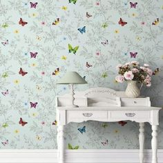 Luxury washable wallpaper for whole sales (order now) Floral Pattern Wallpaper, Paisley Wallpaper, Batman Wallpaper, Lit Wallpaper, Rainbow Wallpaper, Textured Wallpaper, Home Design Decor, Interior Design, Home Decor