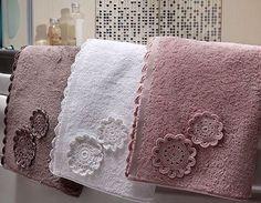 Towels Tutorial for Crochet, Knitting, Craf. Crochet Flowers, Crochet Lace, Cool Gadgets For Men, Crochet Towel, Crochet Projects, Crochet Patterns, Knitting, Anchor Bracelets, Bracelet Men
