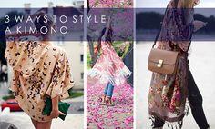 3 Ways To Wear: A Kimono