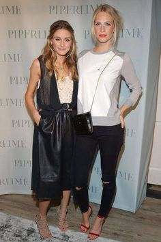 Olivia Palermo and Poppy Delevingne share style secrets and what's on their shopping list for fall: