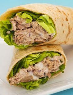 Avocado Tuna Wrap Recipe