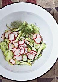 Cucumber-Radish Sala
