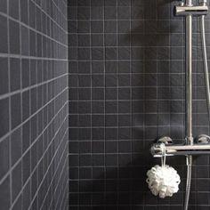 mosaque sol et mur vesuvio noir leroy merlin - Mosaique Sol Salle De Bain