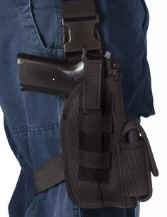 """5"""" Rothco Tactical Leg Holster - Quick Release Velcro Type Enforcement Holsters"""