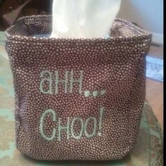 Cute idea for sneezy season! This littles carry all is just right for a box of tissues!  www.mythirtyone.com/janellelfletcher