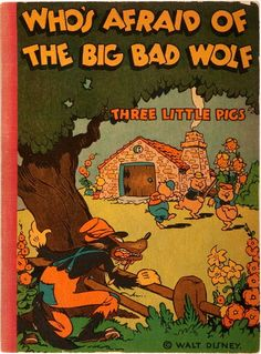 The big bad wolf childrens book
