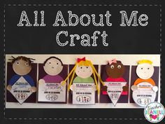 This easy peasy back to school craft is a fun way for your students to get to know each other.  Students will choose their favorite shape, color a crayon, fill in their name, grade, age, and draw a family portrait.  The completed projects will make a great bulletin board display for Back to School Night and/or Open House.
