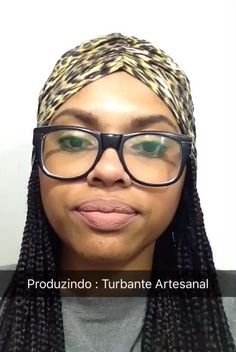 #Turban #BoxBraids #Snapchat #Pretaah