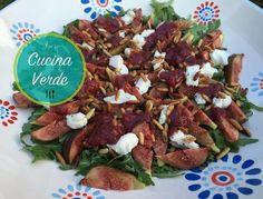 Feigensalat mit Ziegenkäse - Rezept von Joes Cucina Verde Beef, Food, Cooking, Meat, Essen, Meals, Yemek, Eten, Steak