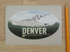 Rimowa Original Denver Sticker | eBay
