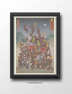 """<b>KHD002+-+Age+of+Ninja</b>    Inspired+by+Marvel+Avengers+2+Age+of+Ultron  *Frame+not+included*    Size:+<b>A3+or+A4+250GSM+Texture+paper</b>    Each+print+will+be+signed.    Print+will+be+shipped+in+a+cardboard+tube+and+registered+mail+in<b>+5-10+business+days</b>+time.    Check+my+<a+href=""""ht..."""