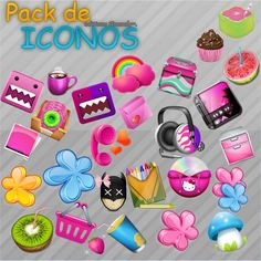 Pack de Iconos .ico by SummerTutorials.deviantart.com