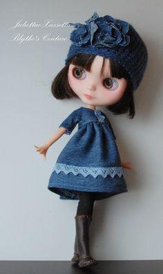 blue denim for Blythe