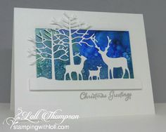 Winter Sky | Stamping with Loll | Bloglovin'