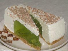 Сметанно-желейный тортик с киви. Пошаговый рецепт | Домохозяйка
