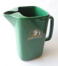 Vintage Pub Bar Greenall's Advertising Water Jug Hornsea Pottery England Circa 1980s £14 #FollowVintage