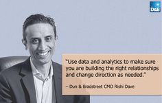 "D&B CMO Rishi Dave discusses ""The Role of Customer Intelligence in an Inbound Marketing World"" #DF14 #Marketing"